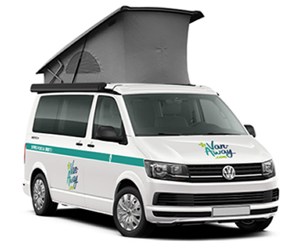5 bearth campervan and 7 seats minibus rental in France