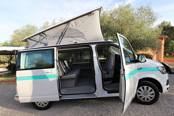 Volkswagen California Beach T6 blanc 7 places 150cv - 45500€ - Montpellier