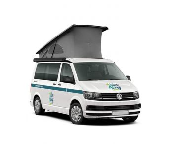 4-berth Volkswagen California campervan rental france