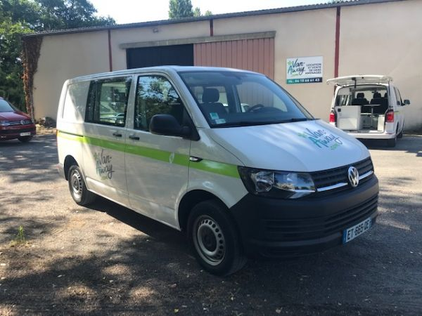 Volkswagen Transporter T6 150 ch TDI DSG7- 3 places - 32500€ - Bordeaux
