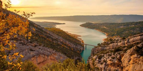 Verdon canyon in a campervan, for 4 days...